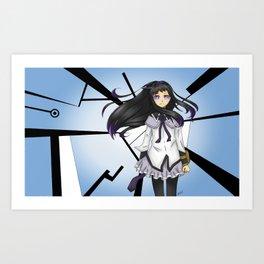 Homura Akemi Art Print