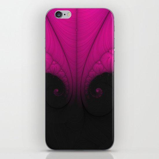 Pink and Black 2 iPhone & iPod Skin
