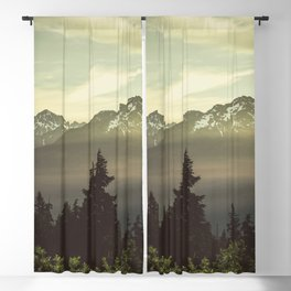 Morning in the Mountains Blackout Curtain