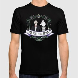 Mr. And Mrs. Tesla T-shirt