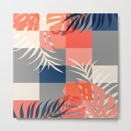 Tropical Puzzle #society6 #decor #buyart Metal Print