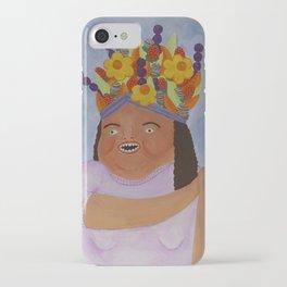 Fruit Basket Woman iPhone Case