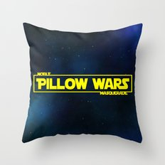 Pillow Wars Throw Pillow