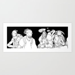 SpaceCase 1 Art Print