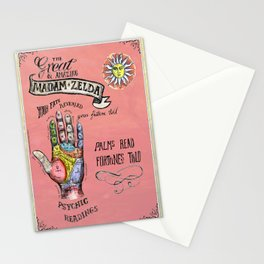 Fortune Teller poster. Stationery Cards