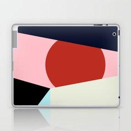 Circle Series - Red Circle No. 1 Laptop & iPad Skin