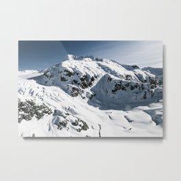 Vertex Mountains Metal Print