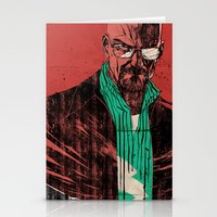 breaking bad Stationery Cards featuring Breaking bad by Toni Infante