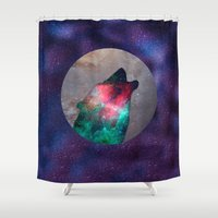howl Shower Curtains featuring Howl by vivajcious