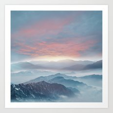 Pastel vibes 72 Art Print