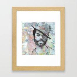 Gary Clark Jr - When My Train Pulls In Framed Art Print