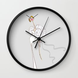 LIKE A VIRGIN Wall Clock