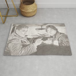 The Winchester Brothers Rug
