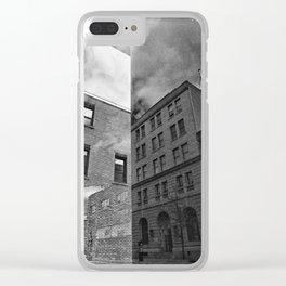 Sherbrooke par Jean-François Dupuis Clear iPhone Case