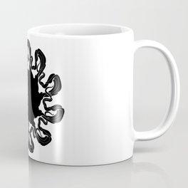 White dance of the black shadow Coffee Mug