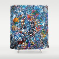 fruit Shower Curtains featuring Fruit by Stephen Linhart