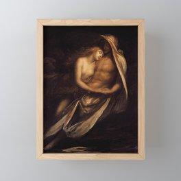 Paulo and Francesco by George Frederick Watts Framed Mini Art Print
