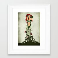 poison ivy Framed Art Prints featuring Poison Ivy by Ayse Deniz