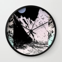 That circle which might be a moon Wall Clock