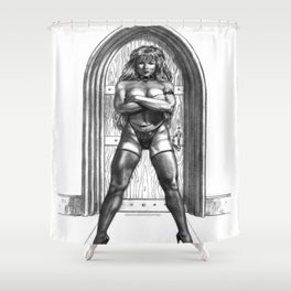 Portera Shower Curtain