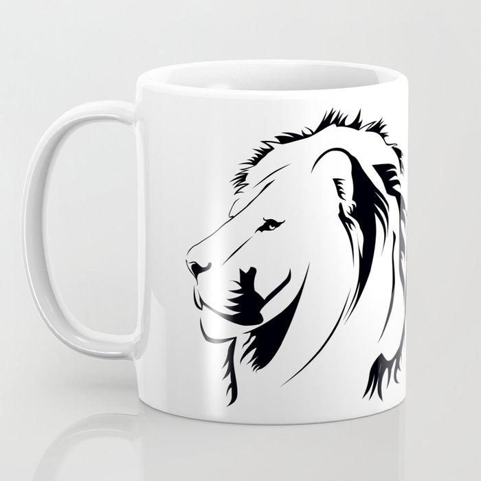 Lionhead Tribiales Coffee Mug