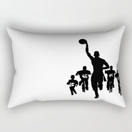 #thejumpmanseries, Boobie Miles Rectangular Pillow