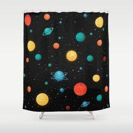 Seamless fantasy pattern Shower Curtain