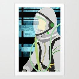 Kosmonaut Art Print
