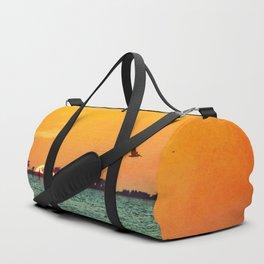 Island Sunset Duffle Bag