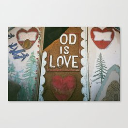 Od Is Love Canvas Print