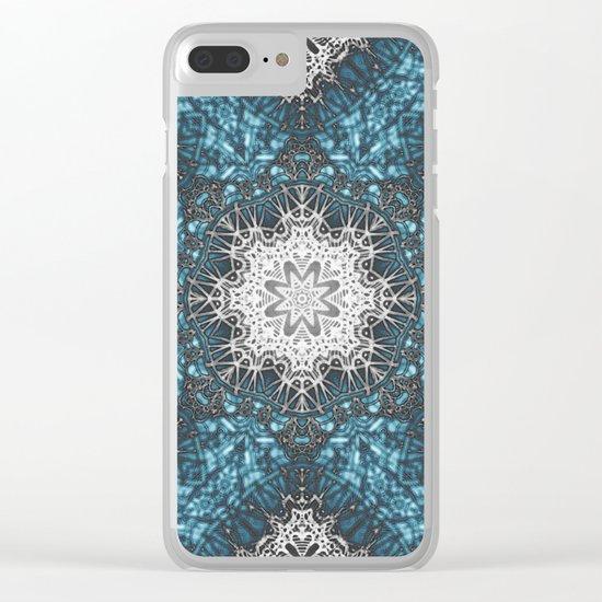 Mehndi Ethnic Style G336 Clear iPhone Case