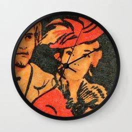 Idiot, Old Soviet Film Poster Wall Clock