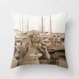 B.B. St. Tropez Throw Pillow