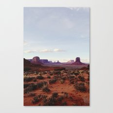 Monument Valley View Canvas Print