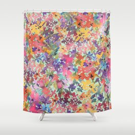 Prairie Wildflowers Shower Curtain