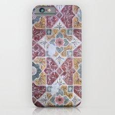 Geometric Wall Pattern iPhone 6s Slim Case