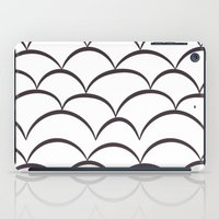 house stark iPad Cases featuring Stark Scales by SonyaDeHart