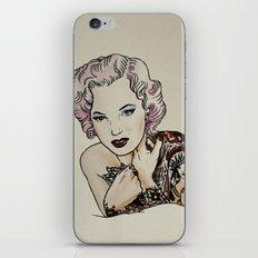 Sucide girl Monroe iPhone & iPod Skin