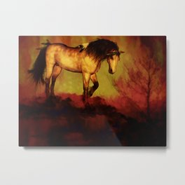 HORSE - Choctaw ridge Metal Print