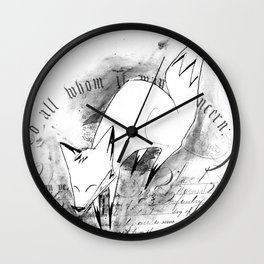 minima - deco fox Wall Clock