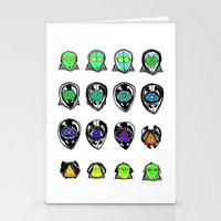 third eye Stationery Cards featuring Third Eye by Yuriy Miron