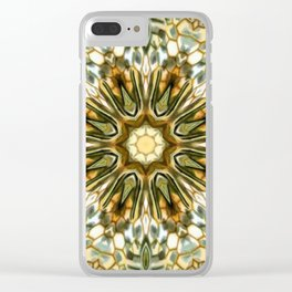 Animal Print Abstract 3 Clear iPhone Case