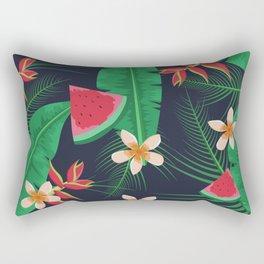 Tropical Watermelon Rectangular Pillow