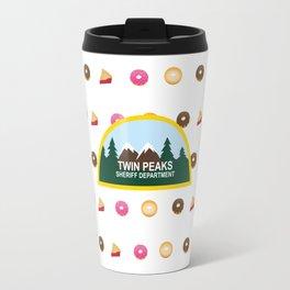 Twin Peaks Sheriff Department Travel Mug