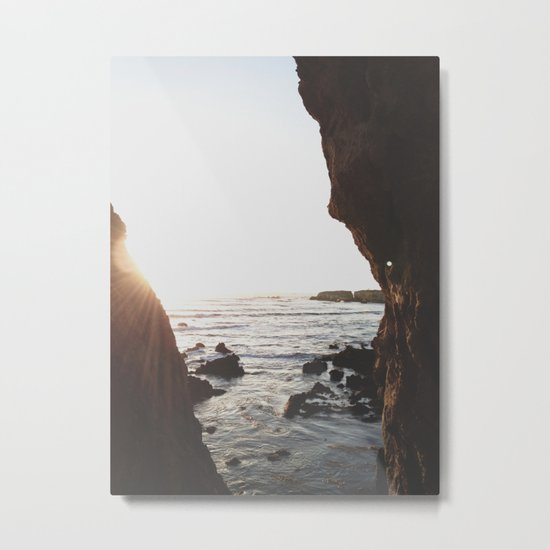 Shell Beach View Metal Print
