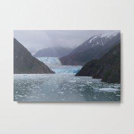 Sawyer Glacier Metal Print