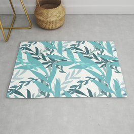 Summer Abstract Seamless Pattern Rug