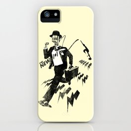 Our Work Is Never Over iPhone Case