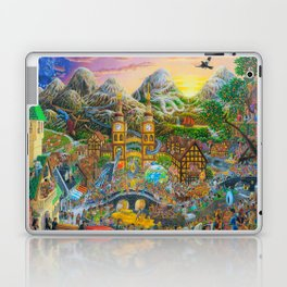Magical Mystery Tour Color Edit Laptop & iPad Skin