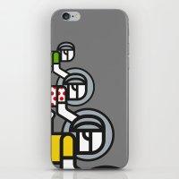 tour de france iPhone & iPod Skins featuring Peloton Tour De France by sonsofwolves